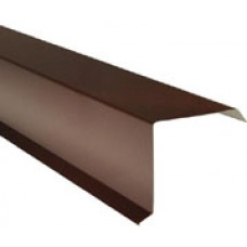 Ветровая планка 2,5м RAL 8017 Шоколад