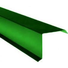 Ветровая планка 2,5м RAL 6005 Зеленый мох
