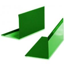 Угол 50х50 окрашенный 2,5м RAL 6005 Зеленый мох