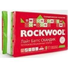 Утеплители Rockwool Лайт Баттс Скандик 100 мм