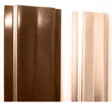Штакетник (М-обораз. с ушками) 1,5 м окрашенный RAL 8017-шоколад