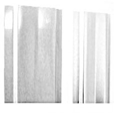 Штакетник (М-обораз. с ушками) 1,5 м окрашенный RAL 9003-белый