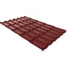 Металлочерепица Монтеррей 2,25х1,19 RAL 8017 Шоколад