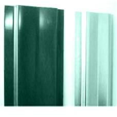 Штакетник (М-обораз. с ушками) 1,5м окрашенный RAL 6005-зеленый